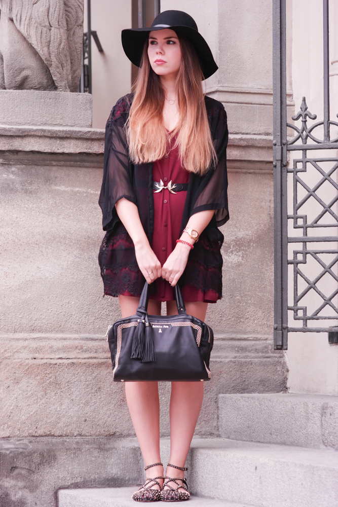 rotes Sommer Kleid