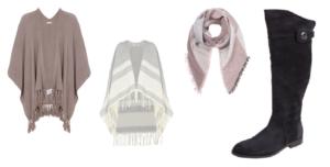 TheRubinRose-Blog München-Modeblog München-München Modeblog-Herbst-Autumn-Essentials-Must Haves-Ponchos-Cardigan-Cape-Poncho-Oversized Schal-großer Schal-Overknees-Overknee Stiefel-Stiefel-Boots