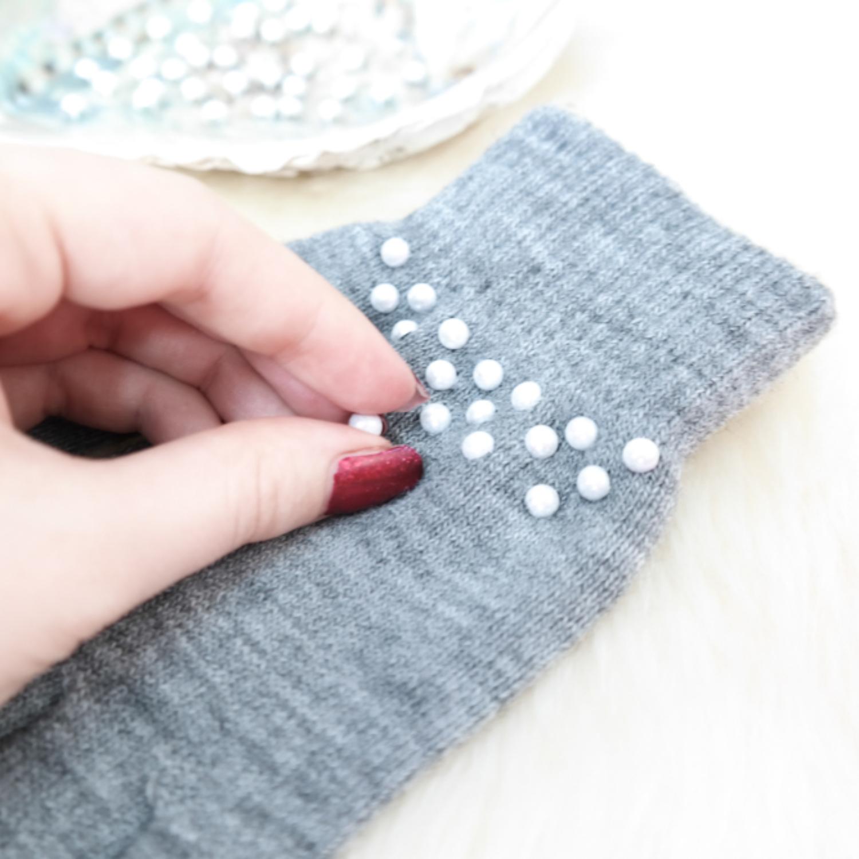 DIY pimp up your gloves – Handschuhe verzieren