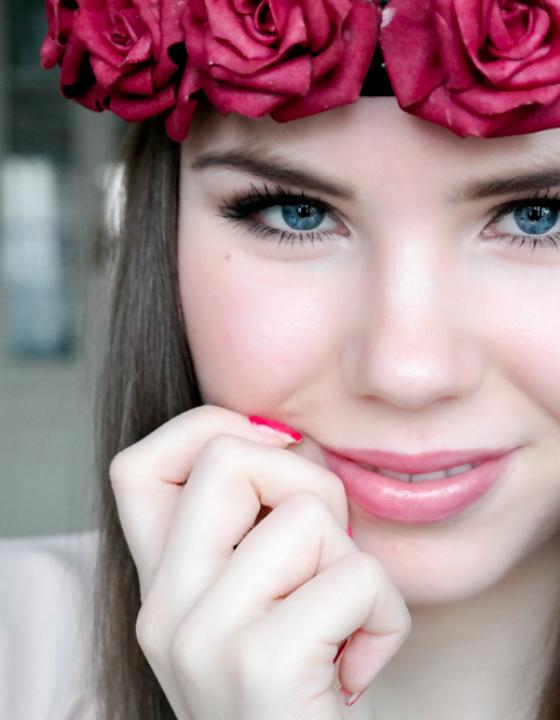 TheRubinRose: DIY Blumenkranz – Rosenkrone selbst basteln