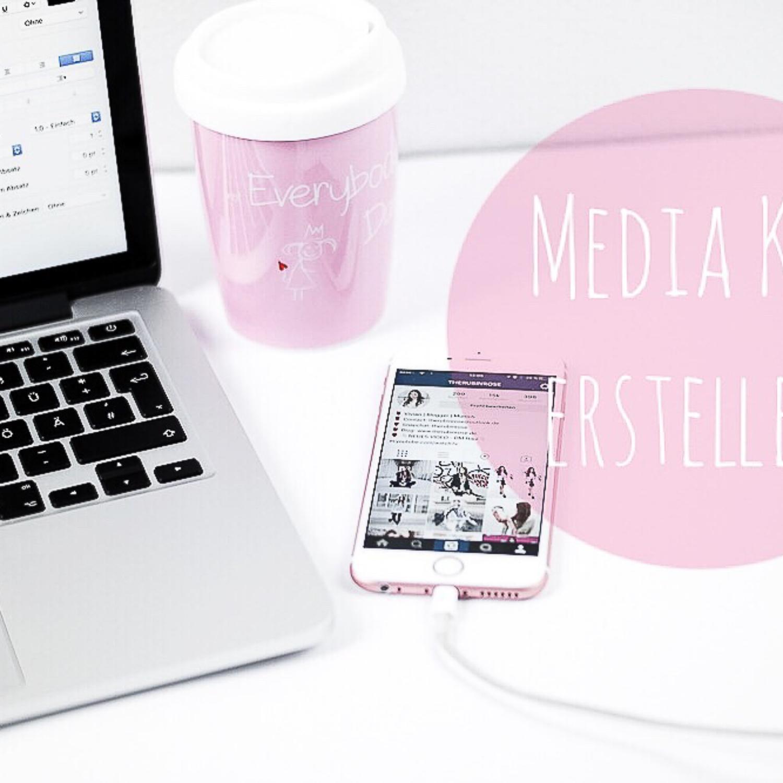 Media kit für (Fashion) Blogger erstellen