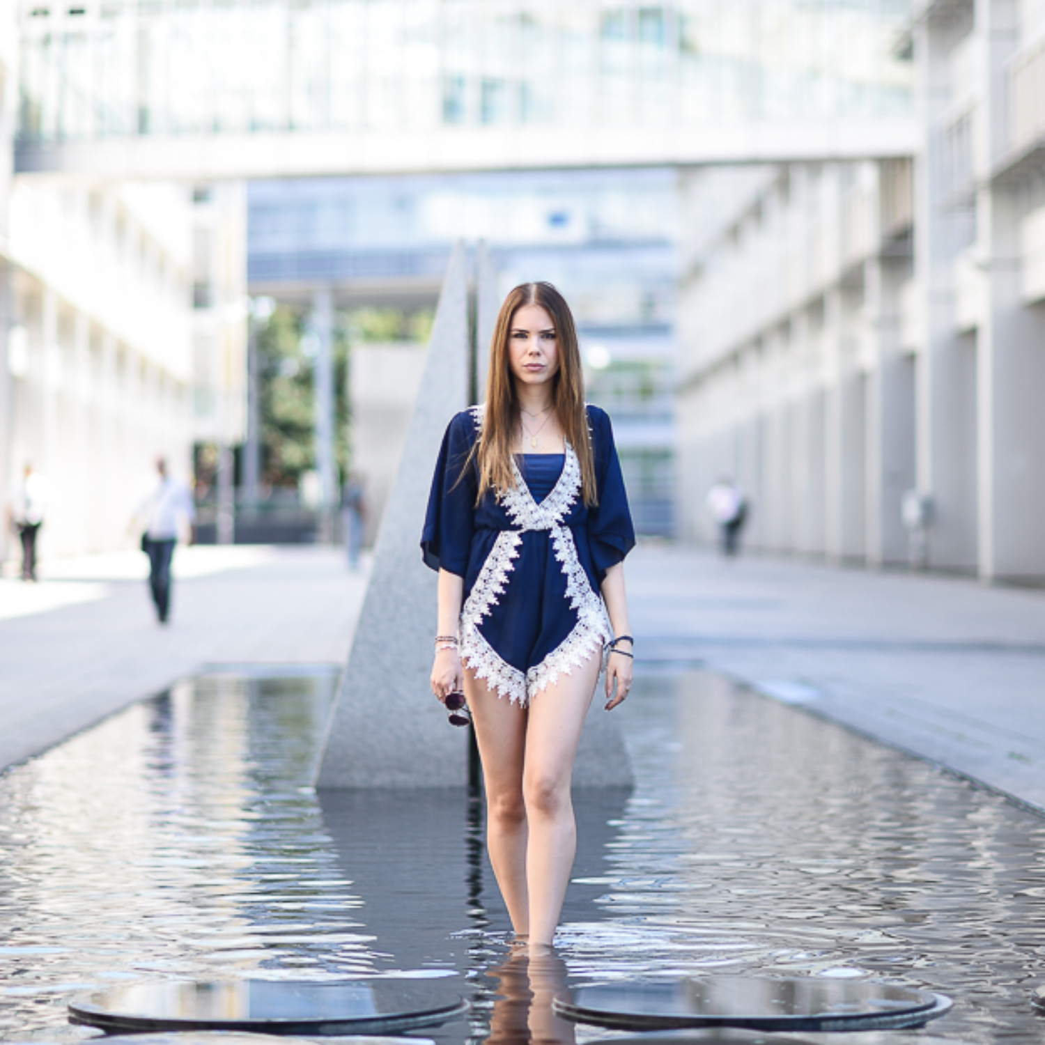 Playsuit for a hot summer day in Munich