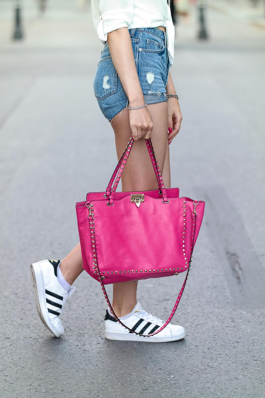 Valentino Rockstud Tasche pink