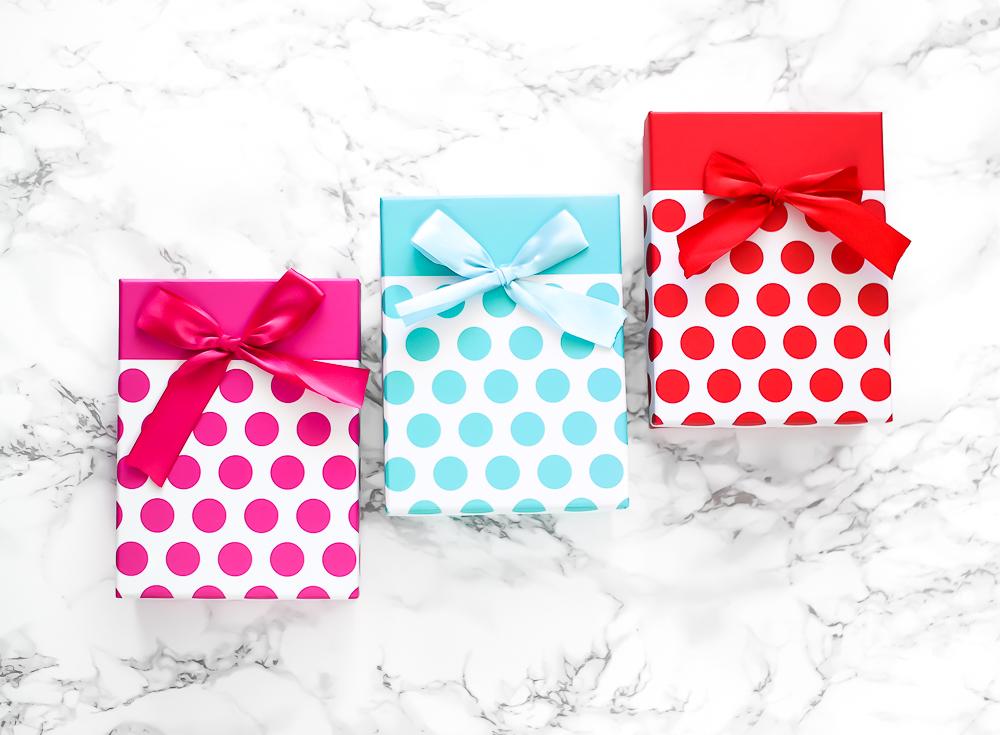 Giveaway drei Geschenke