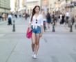 Off-Shoulder Liebe ❤️ Zara Denim Kleid
