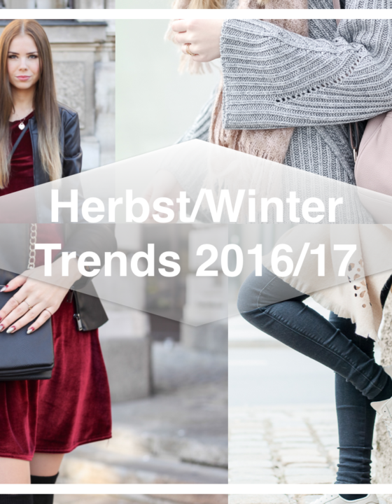 Fashion Trends im Herbst/Winter 2016/2017