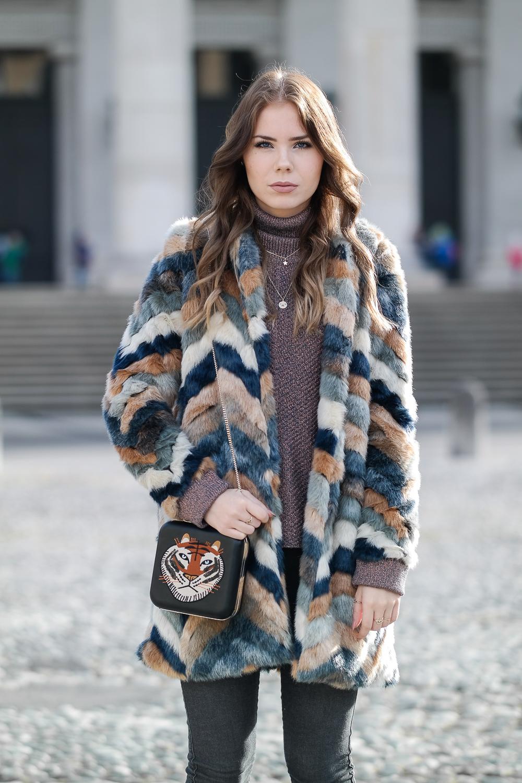 EMU Australia Chelsea Boots Fake Fur Jacke
