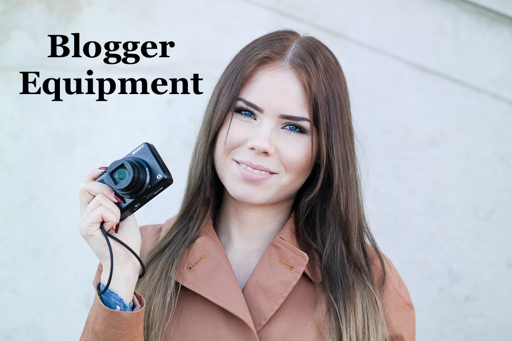 Modefotografie Blogger Equipment