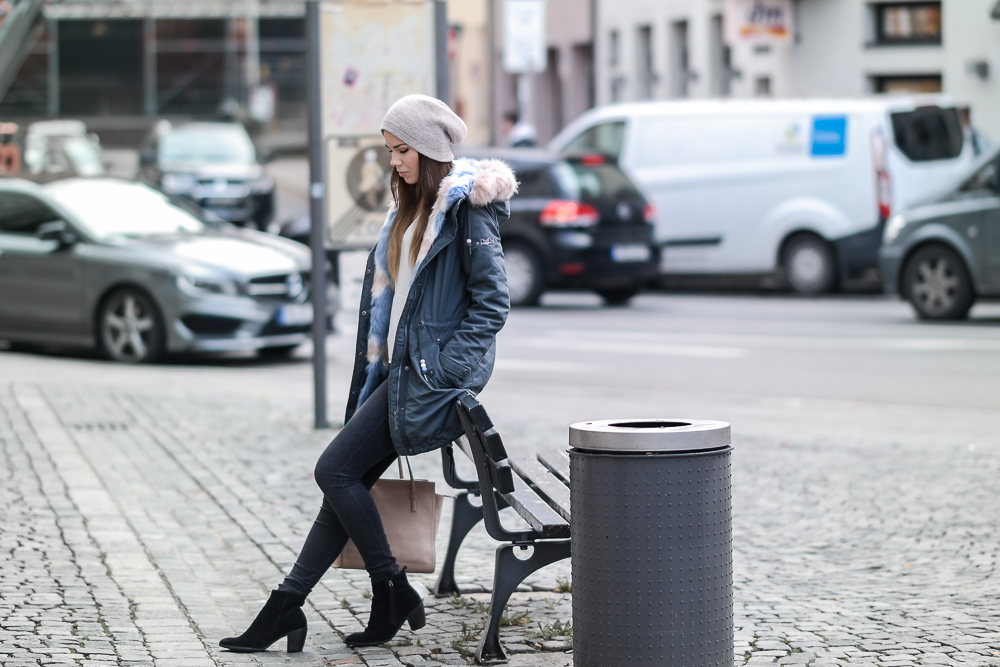 Streetstyle Wintermantel