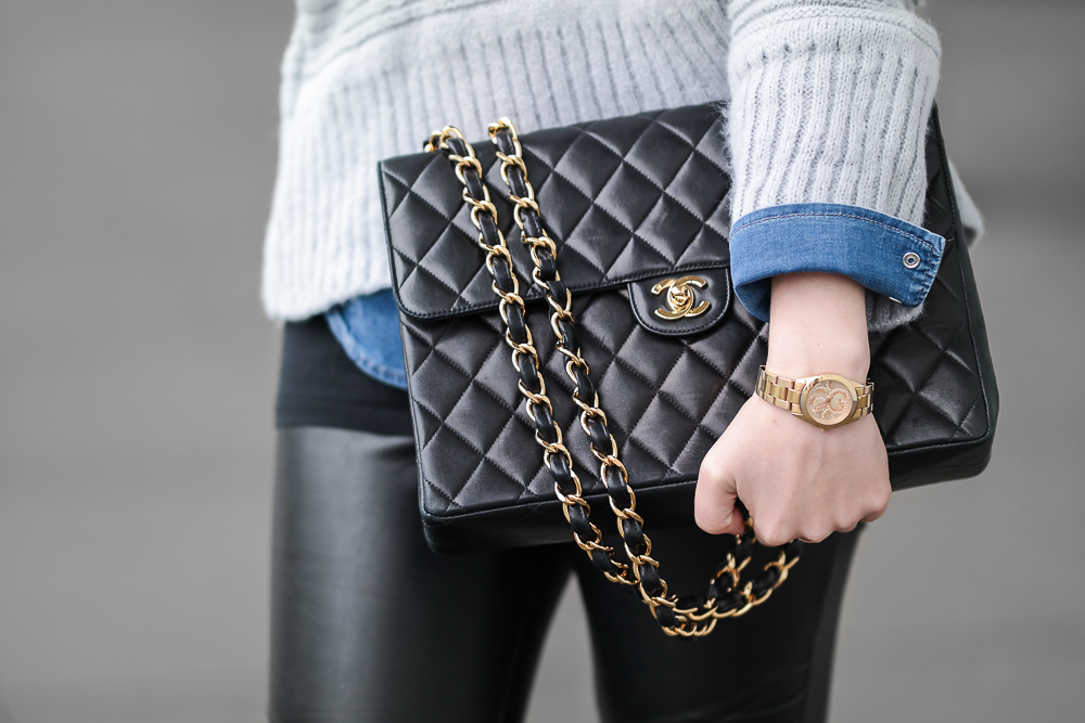 Chanel-Double-Flap-Bag-Vintage-Tasche