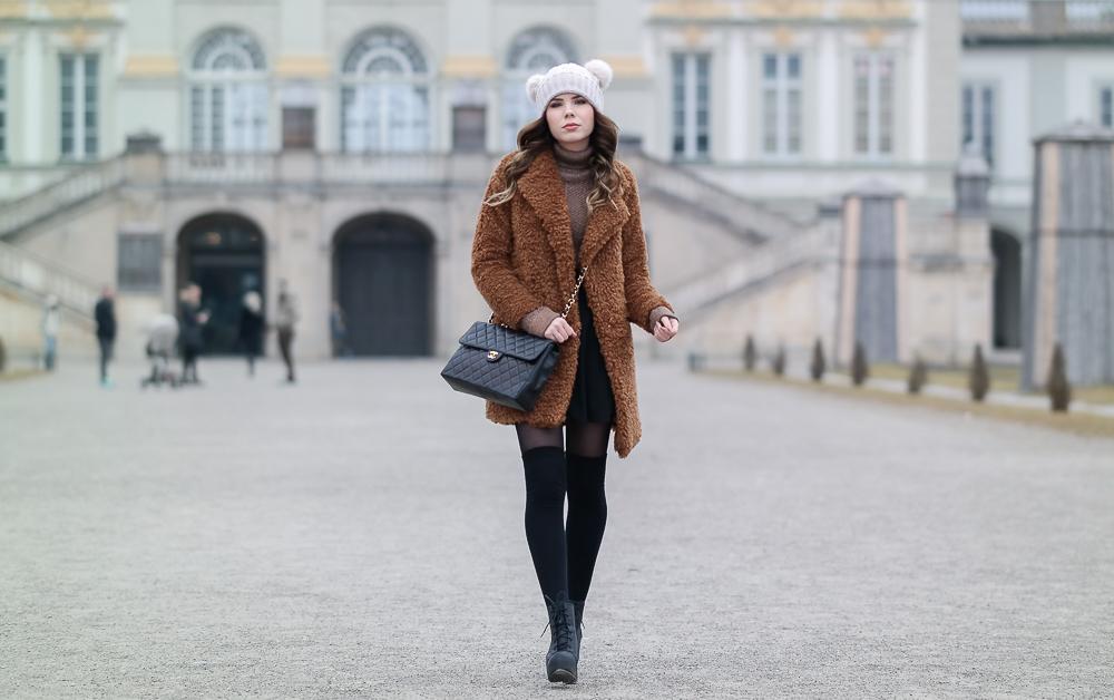 Teddy-Outfit-Mantel-Damen-Asos-Zara-Monki-HM-Strümpfe-Nur-Die-Figura-schwarz-25-den