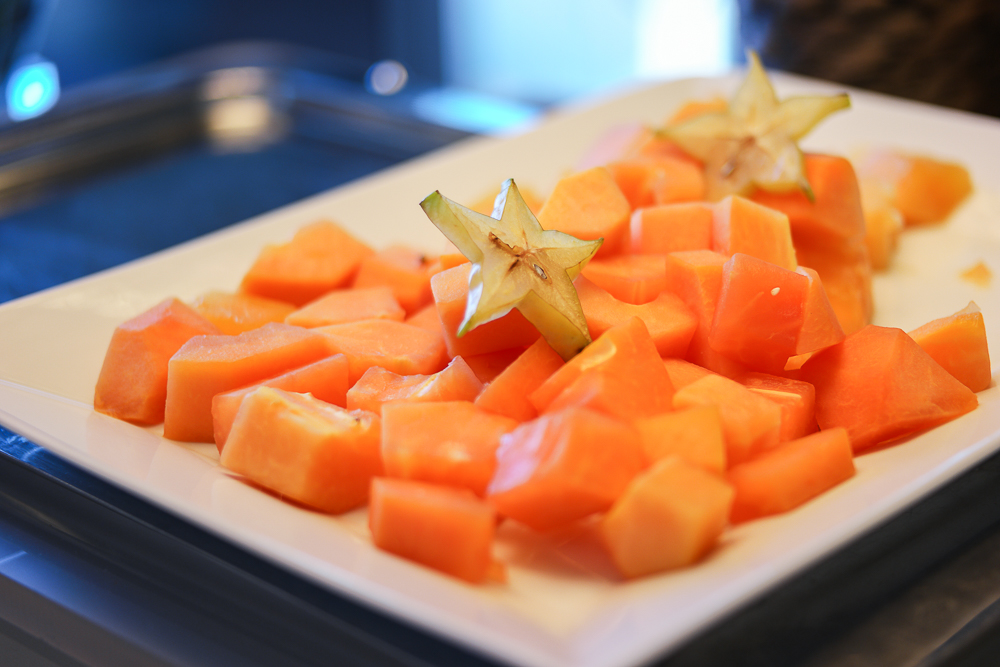 Frühstück-Fruitsalad-Obst-Melone-Honigmelone