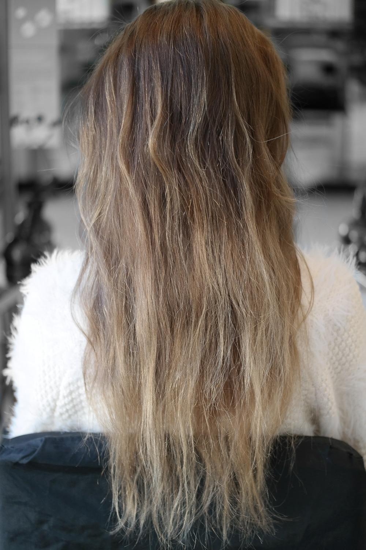 Ausgangssituation-Spliss-kaputte-Haare