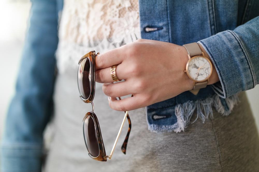 Sonnenbrille-Ring-Uhr