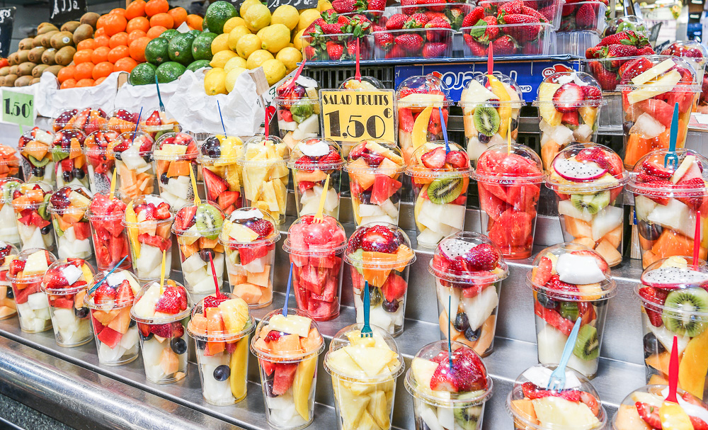 La-Boqueria-Früchte-Obst-Smoothies