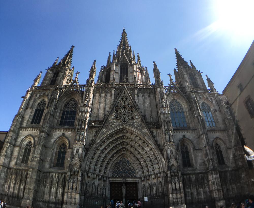 La Catedral-Barcelona Kathedrale-gotisches Viertel