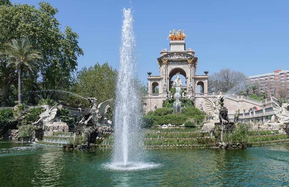 Parc-de-la-Ciutadella-Teich-See