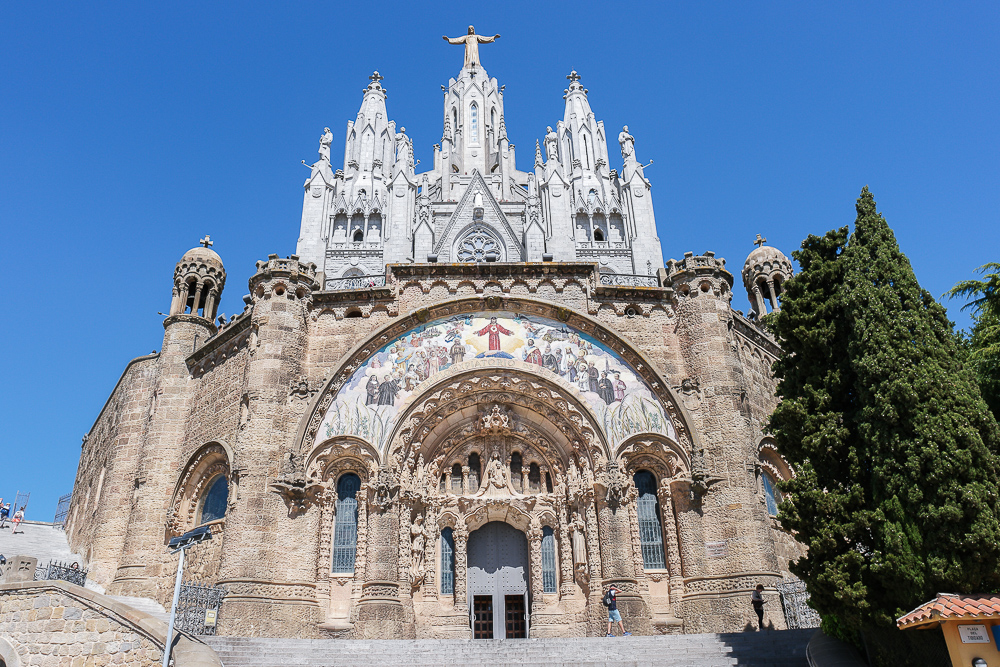 Sagrat-Cor-Kirche-Tibidabo