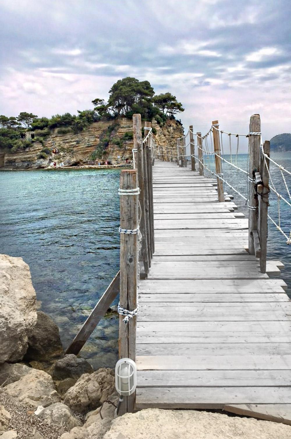 Agios Sostis Brücke