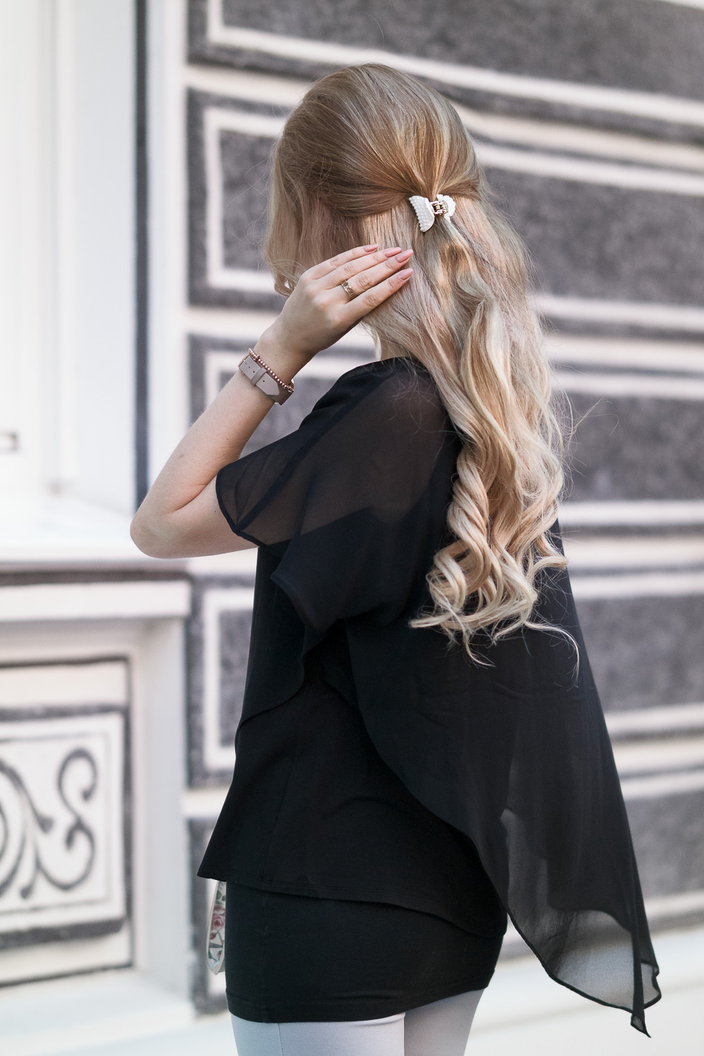 Fashion Trend-Blonde Extentions von Luxury for Princess - lockige Haare
