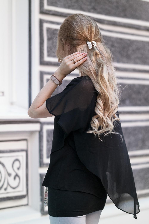 Fashion Trend-Blonde Extentions von Luxury for Princess - lockige Haare