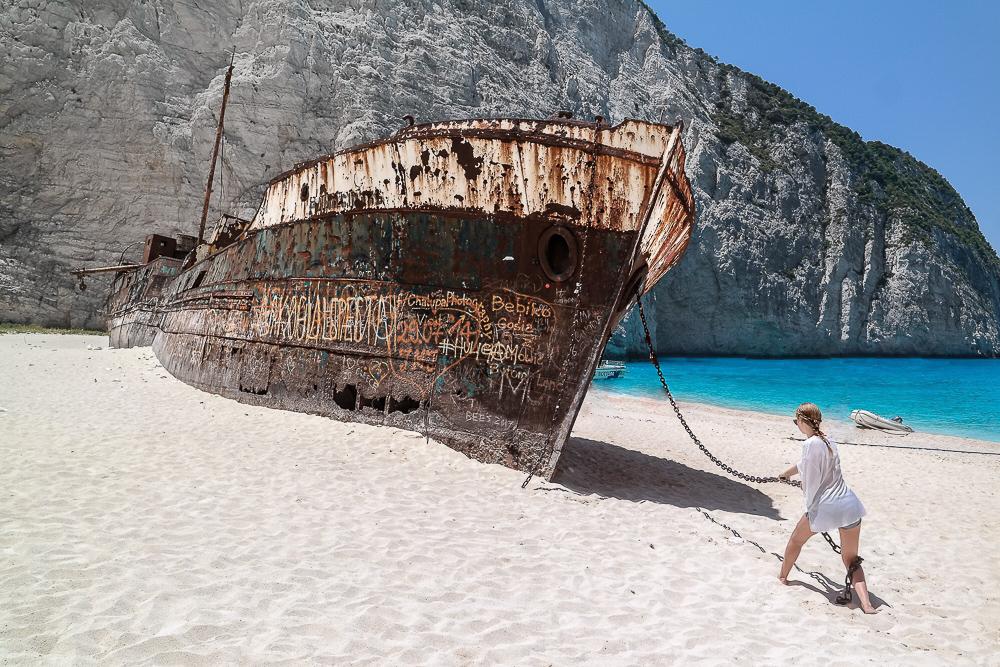 Navagio-Shipwreck-Beach