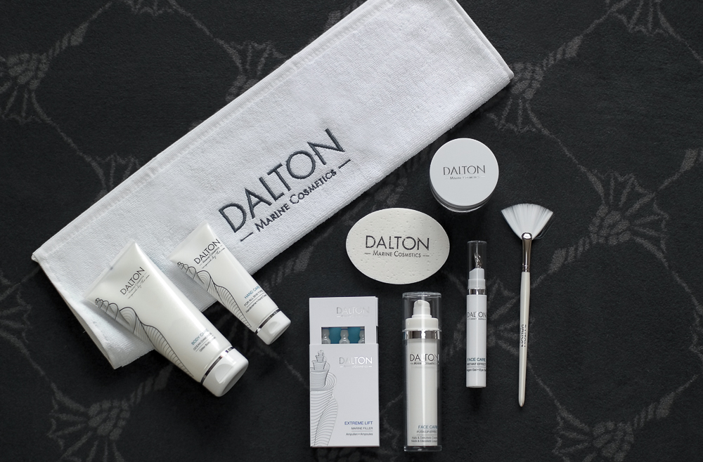 Beauty-Pflegeprodukte-Hautpflege-Dalton Marine Cosmetics-Augencreme-Lift Ampullen-Face Cream-Body Lotion-Handcreme-Maske