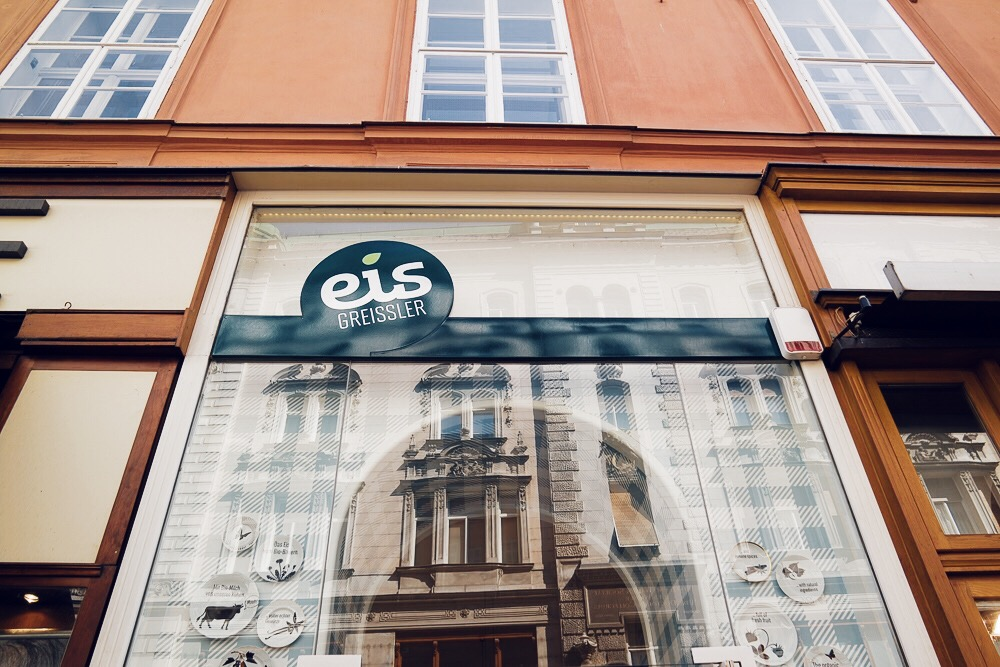 Eis Greissler Wien Innenstadt Geheimtipp