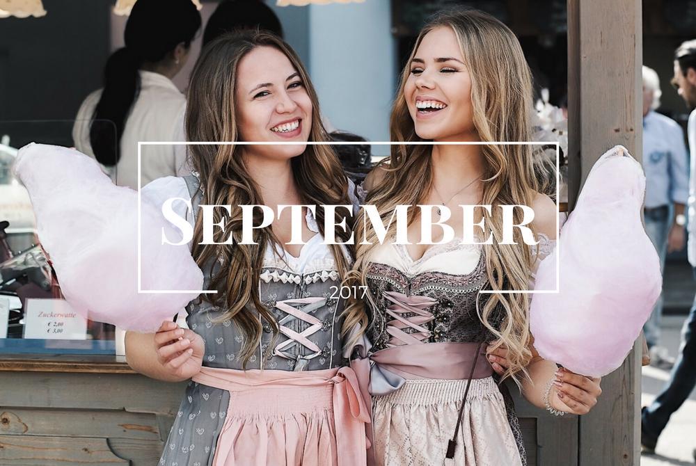 Monatsrückblick September-Wiesn-Oktoberfest-München-Blogger Alltag-Freundschaft