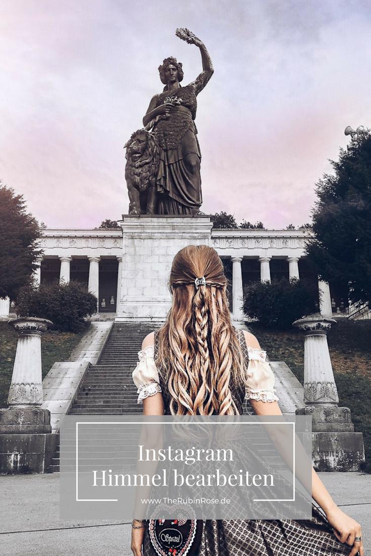 Blogger Tipps-Rosa Himmel bearbeiten-Instagram