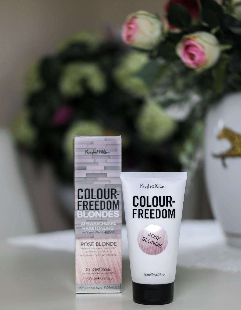 Colour-Freedom-Blonde-Rose-Blond-Rosa-Haare-färben-Haartönung-Tönung-von-Blond-auf-Rosa-färben-tönen
