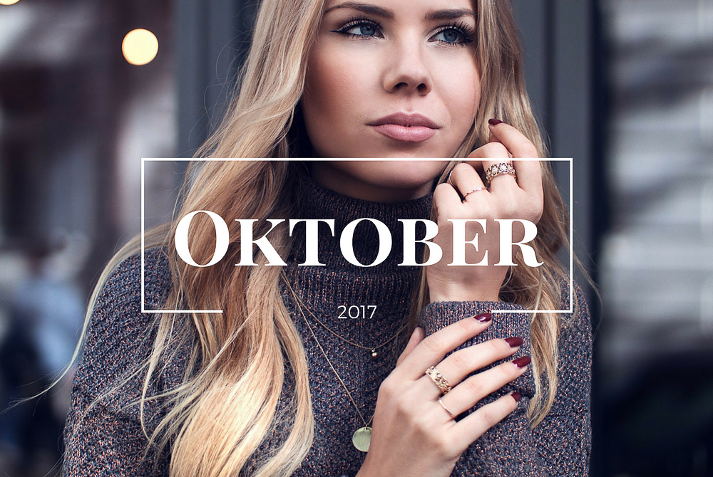 Monatsrückblick Oktober-Pressdays-Blogger Events-Herbst Looks-Neues Blogdesign