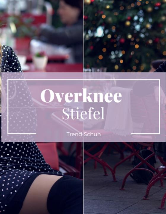 Overknees stylen: So kombiniert man den Trend Stiefel