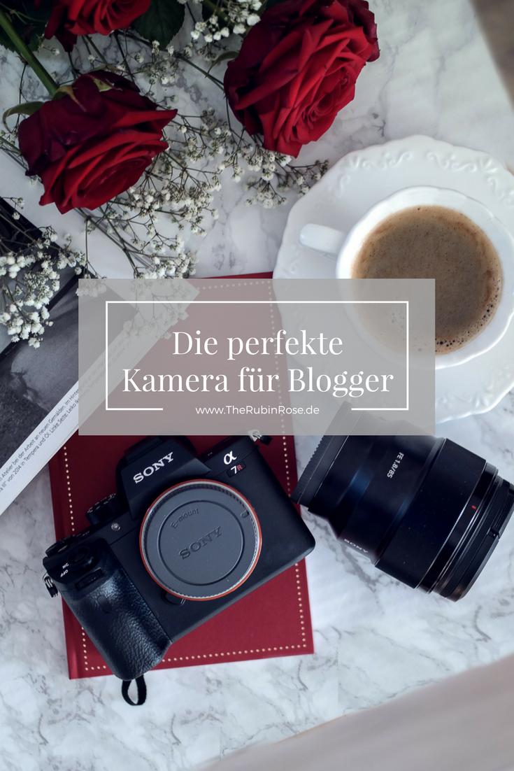 Bloggerin TheRubinRose-Die perfekte Kamera für Instagram Blogger-Sony Alpha 7R II-Objektiv mit Festbrennweite 85 mm 1.8