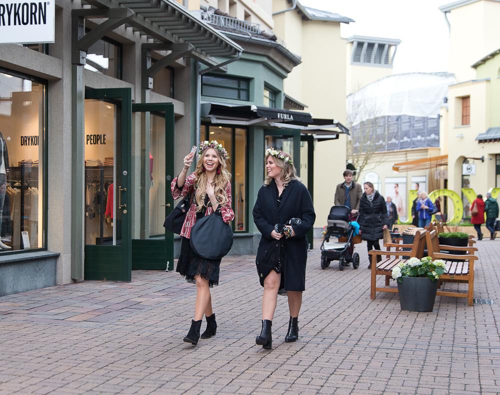 Instagram Stories im Wertheim Village-Blogger
