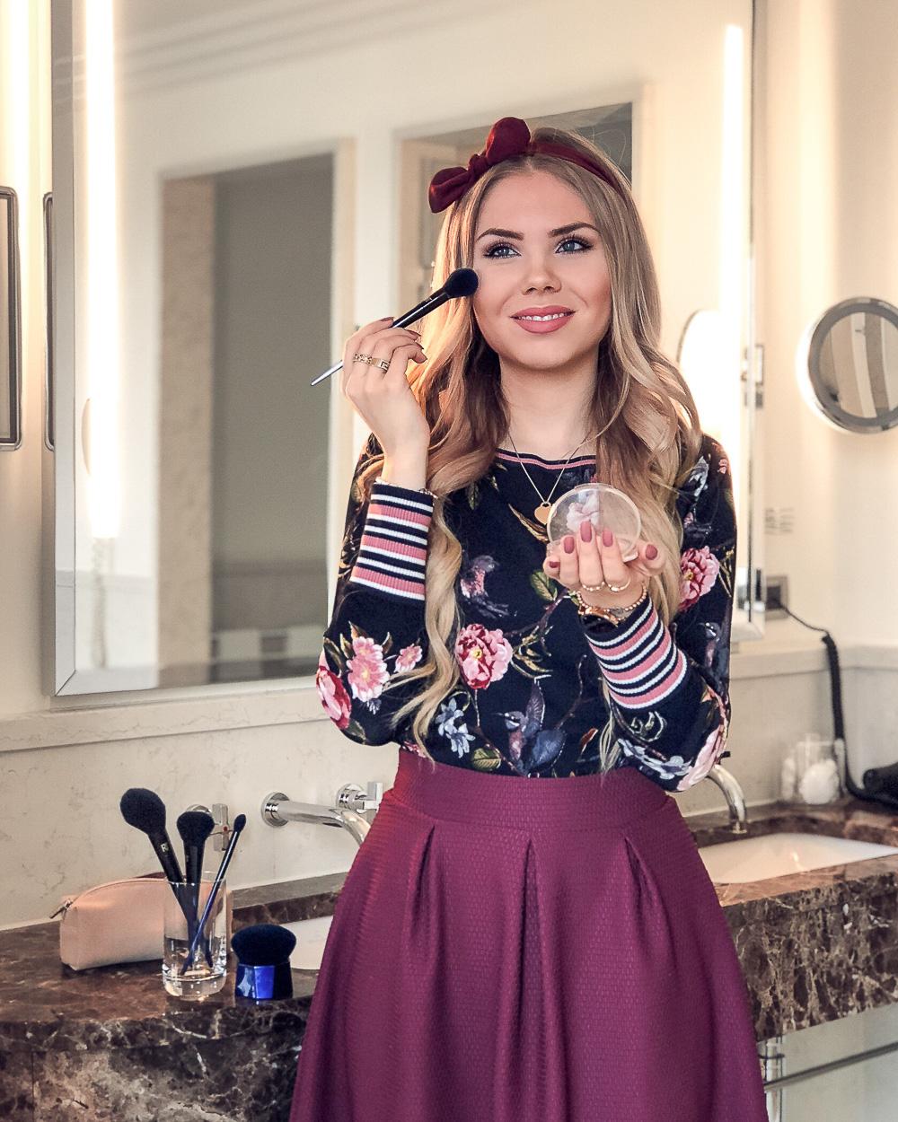 Beautyblogger München-Betty Barclay Sweater mit Blumenprint
