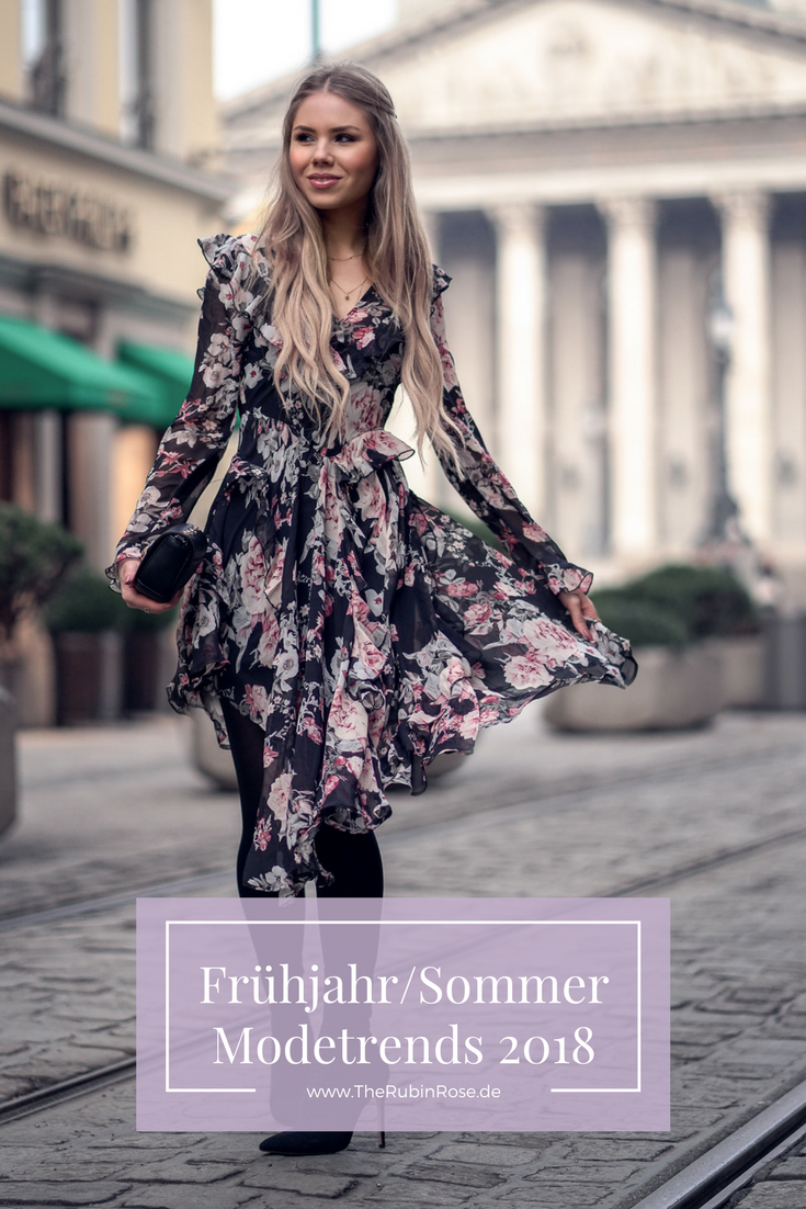 Frühjahr Sommer Fashion Trends Modetrends 2018-Pinterest