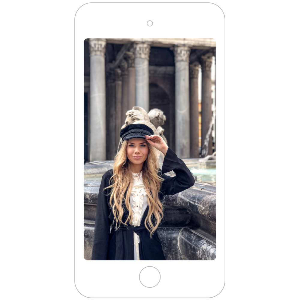 Instagram Blogger Fotospot Pantheon Brunnen