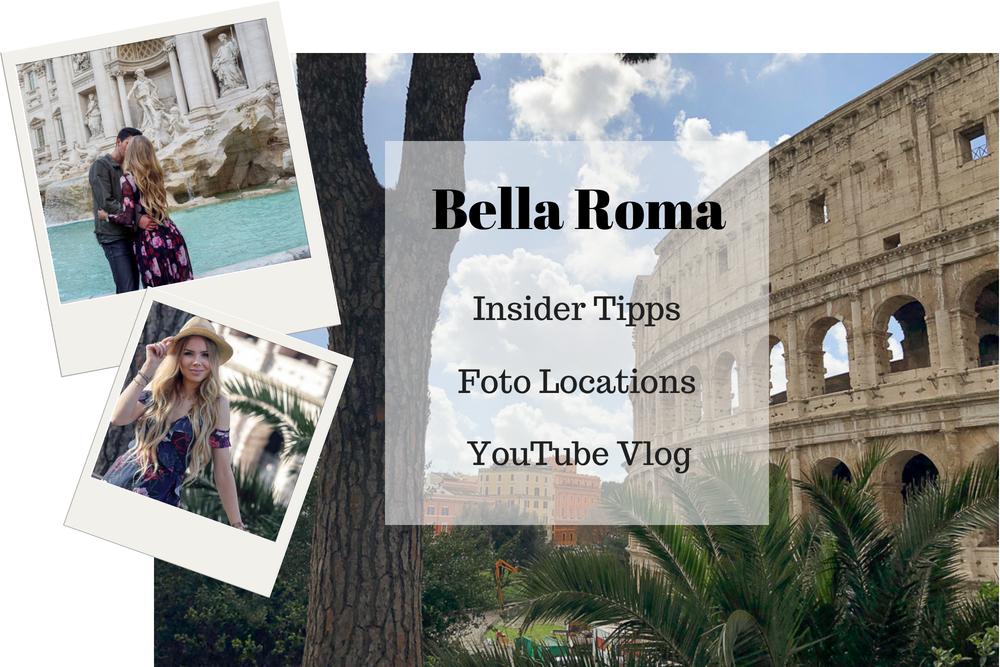 Rom Reisebericht mit Blogger Tipps über Sehenswürdigkeiten Fotospots Restaurants Hotel Flug