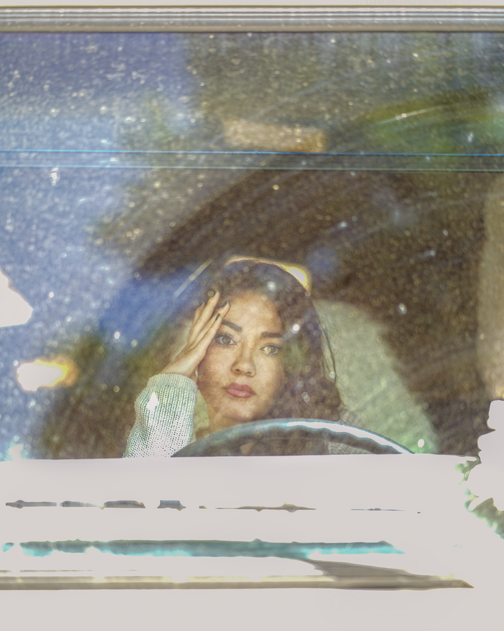 Schmutzige Glasscheibe - Bokeh Effekt - Foto Hacks
