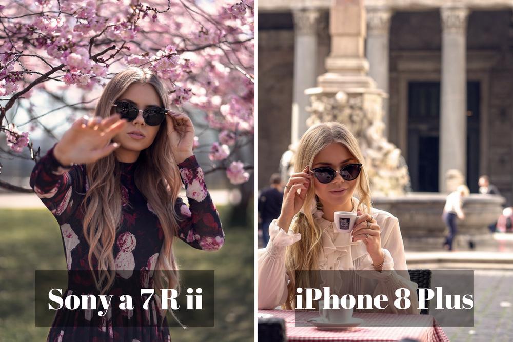 Vergleich Tiefenschärfe Kamera und iPhone
