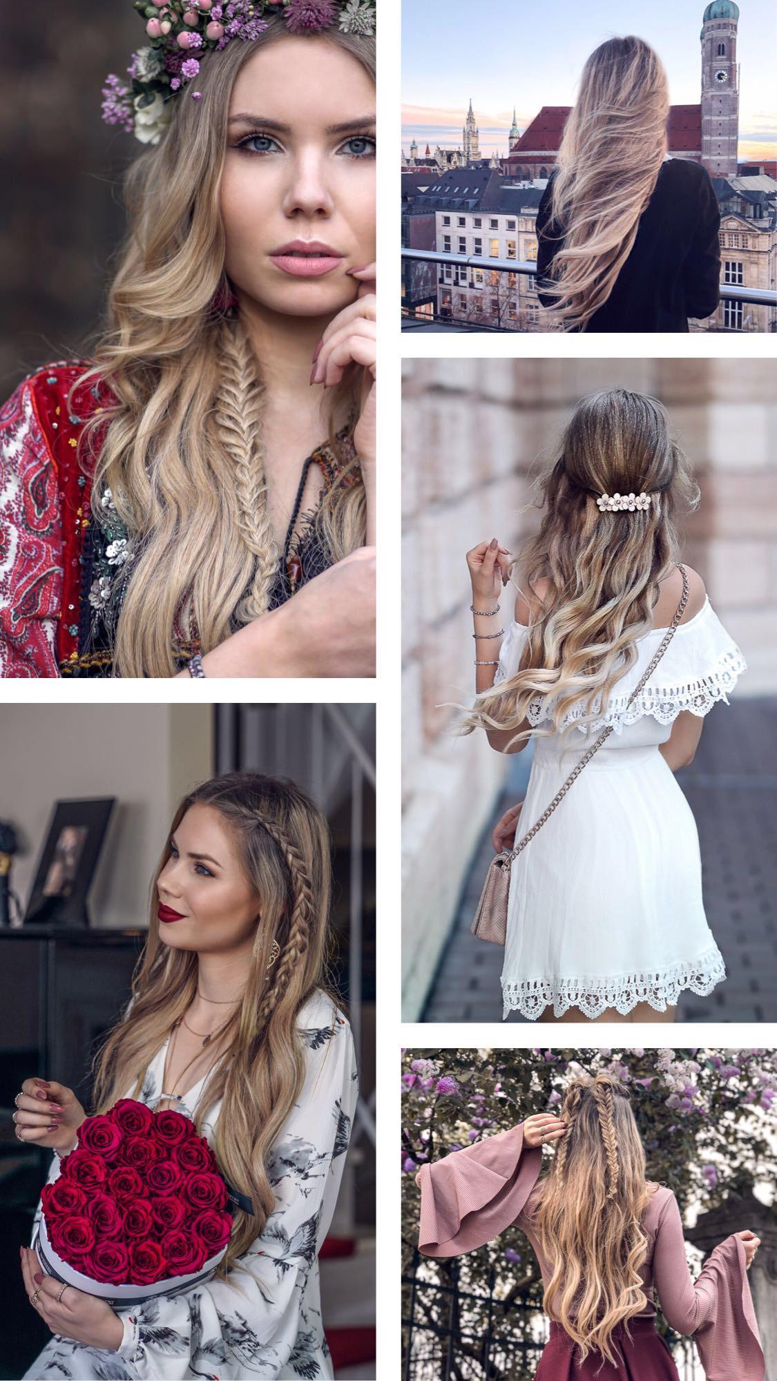 Haar Inspiration Bilder - Instagram therubinrose