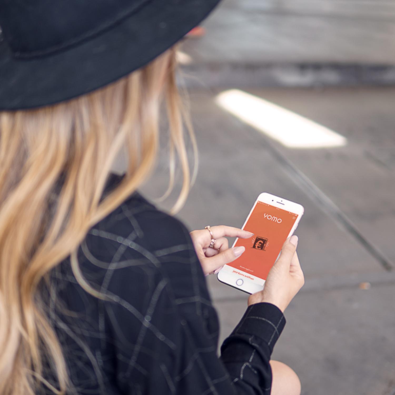 Mobile Banking App für das Smartphone – yomo