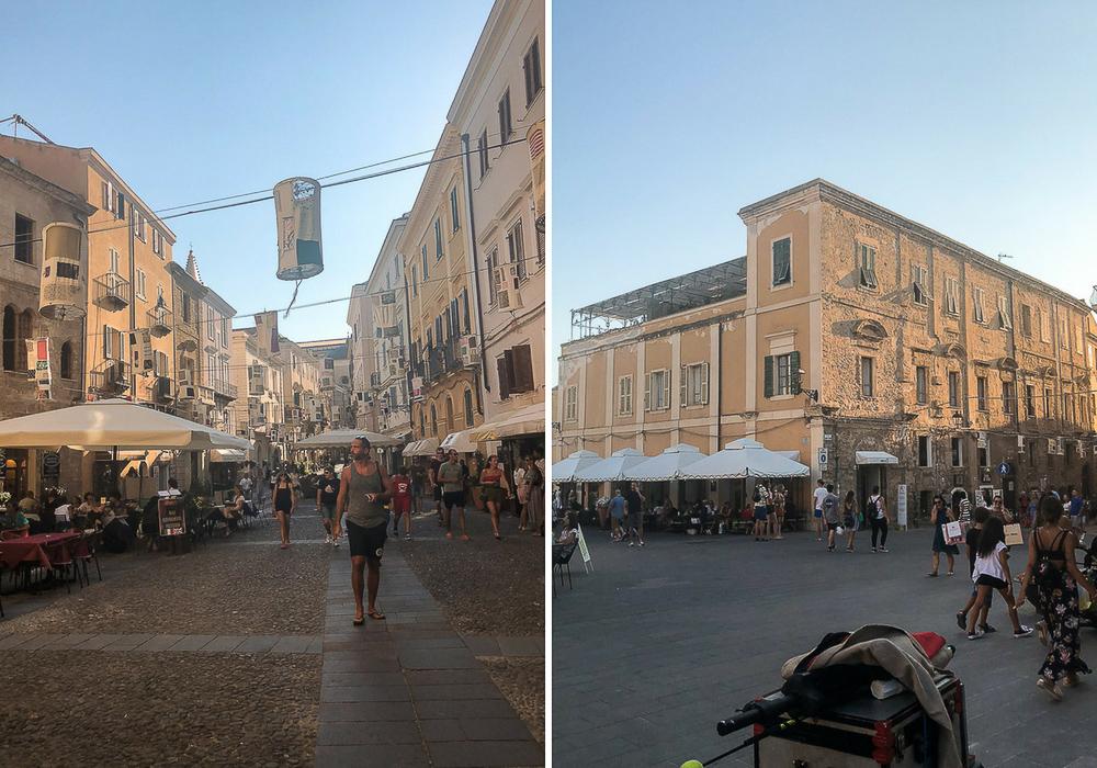 Alghero Stadt Zentrum