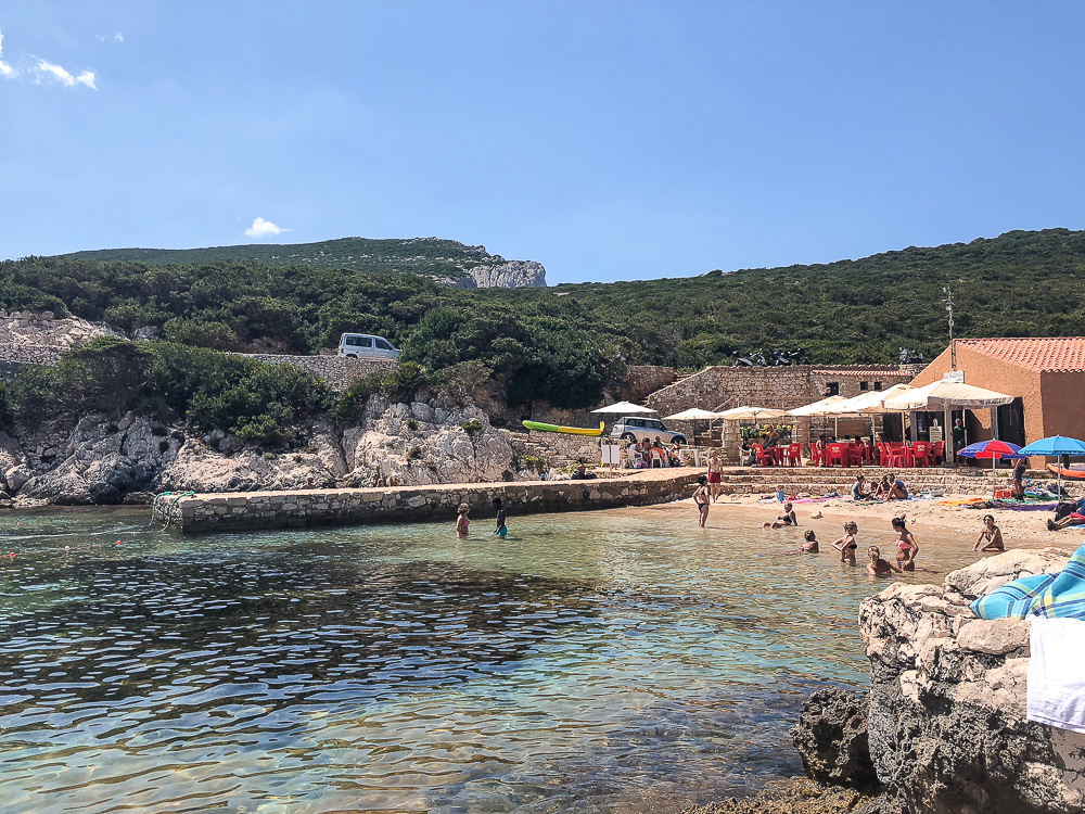 Cala Dragunara - Bucht bei Alghero
