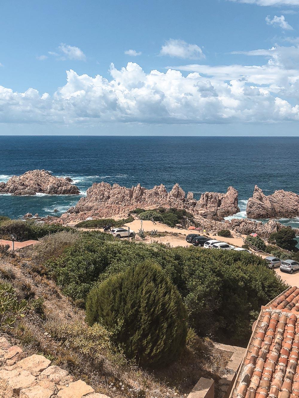 Costa Paradiso Aussicht