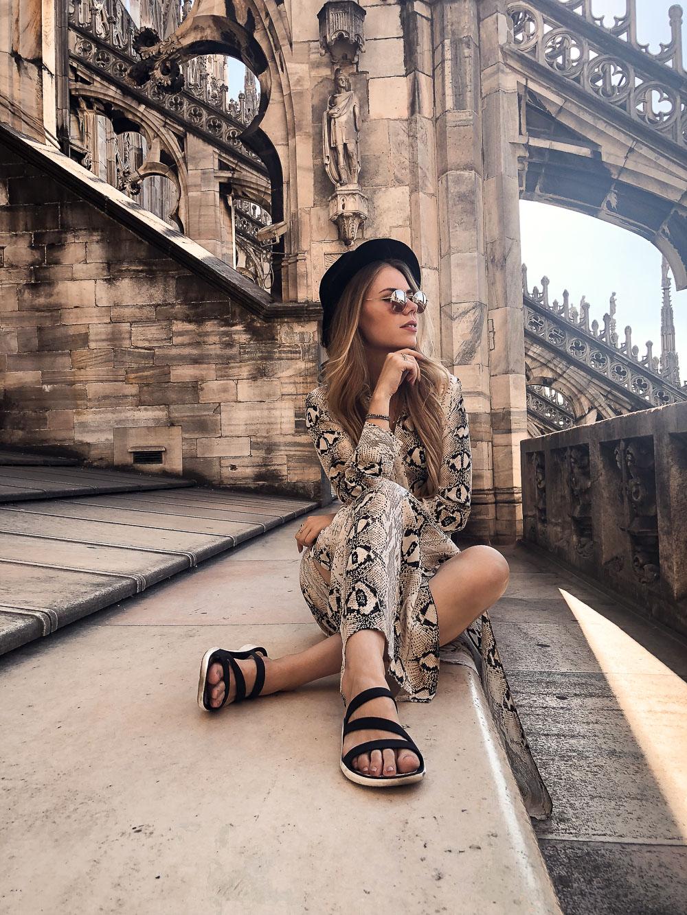 Mailand Dom Dach - Fotolocations - gotischer Stil