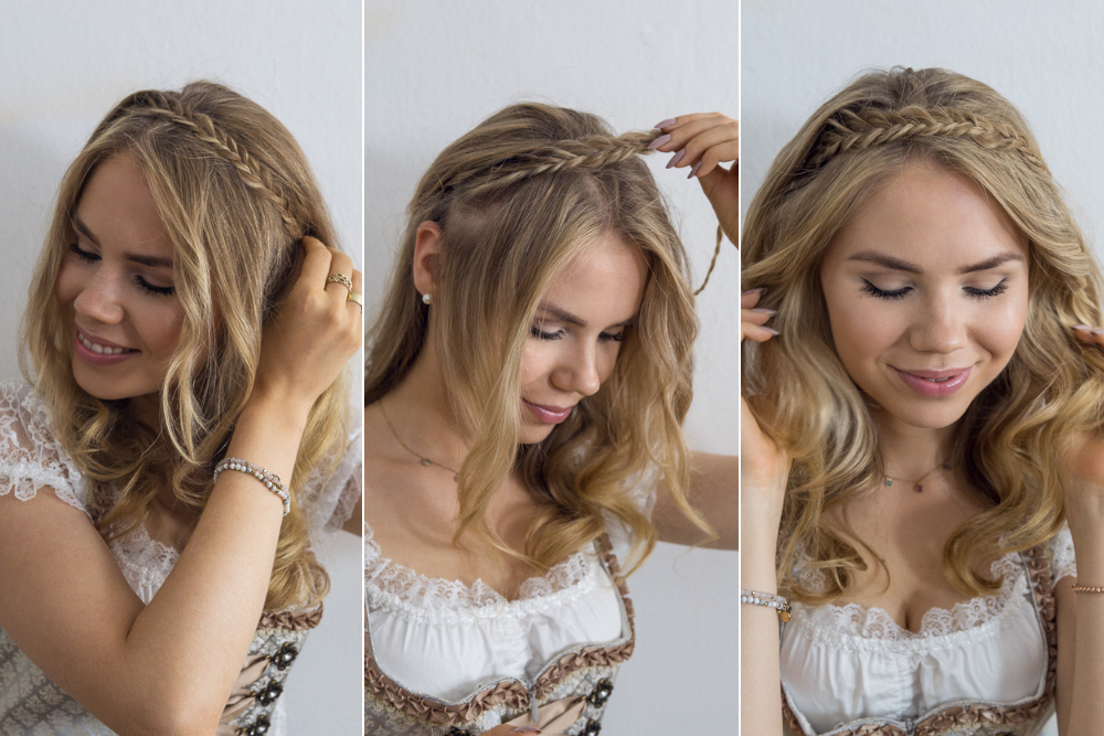 Dirndl frisuren diy