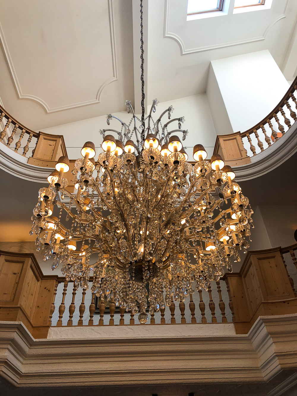 Kronleuchter Lobby