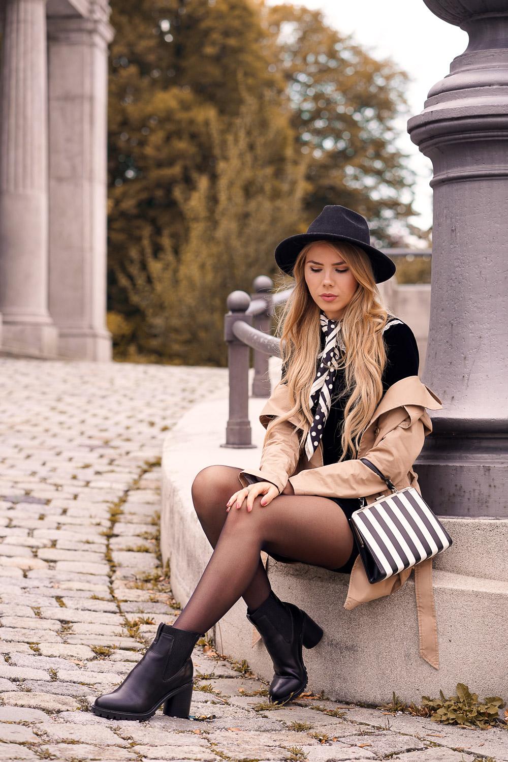Stylisches Herbst Outfit mit Klassikern